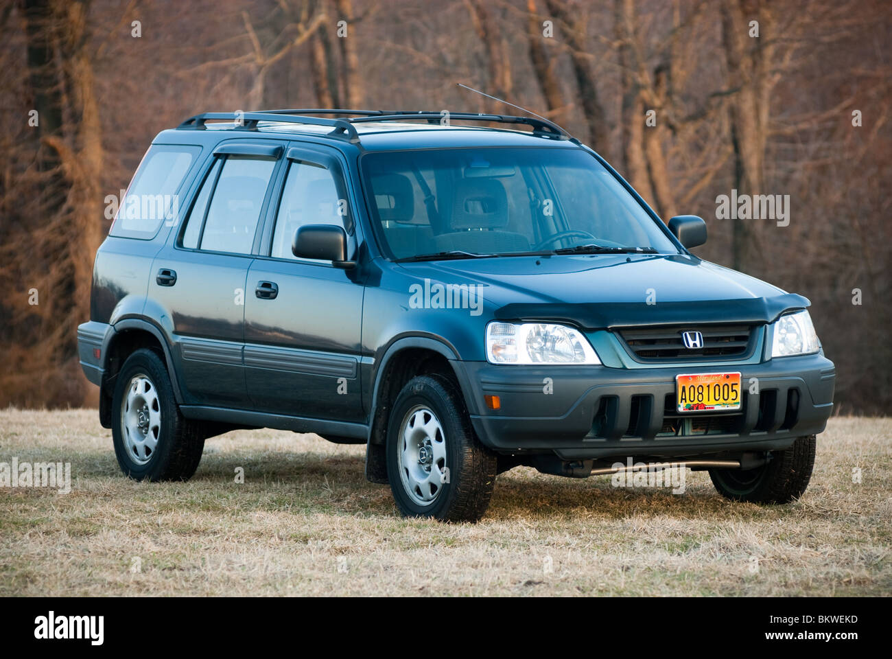 Honda Crv 1998 >> 1998 Honda CRV Stock Photo, Royalty Free Image: 29449153 - Alamy