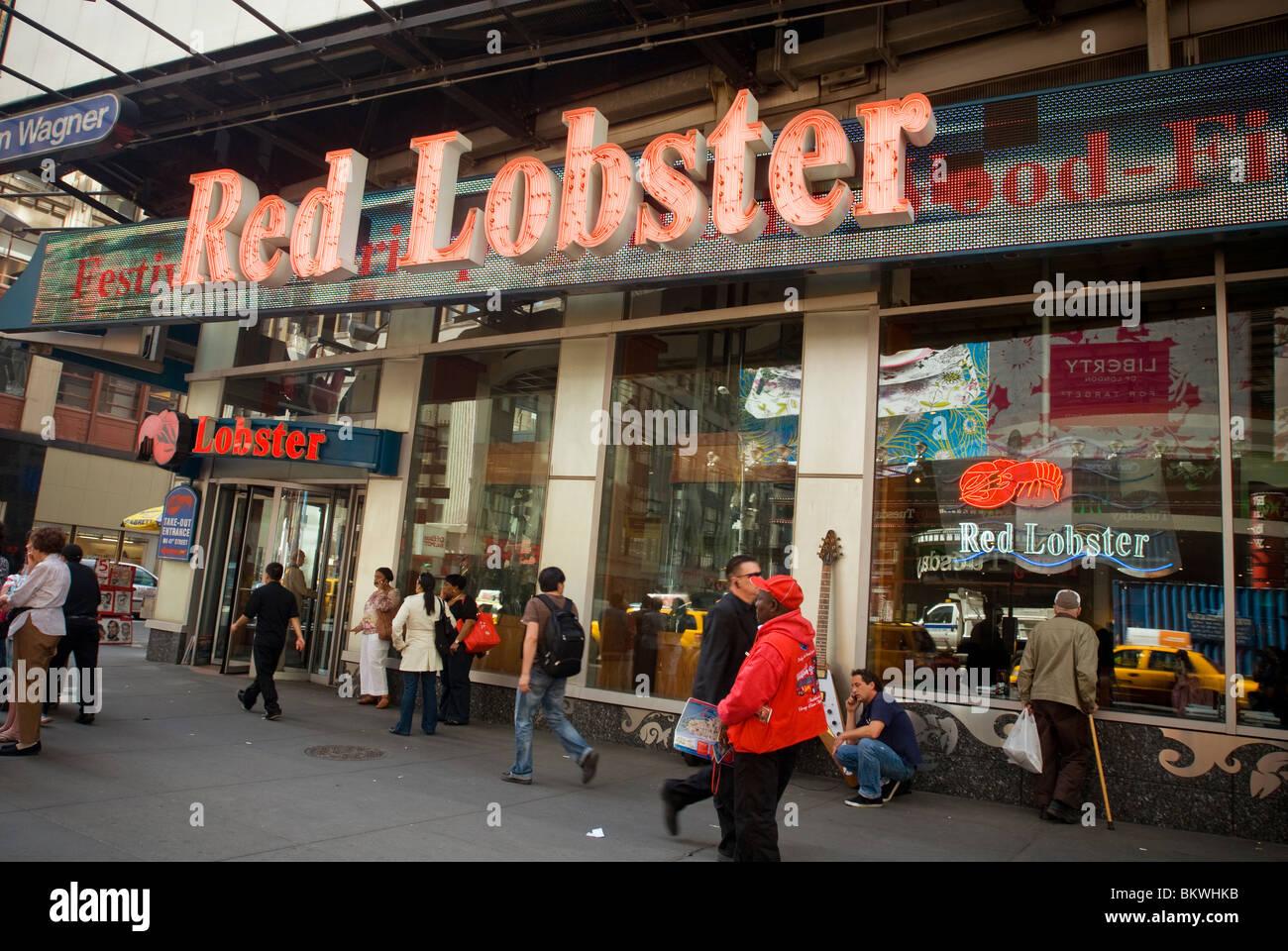 red lobster 42nd street menu