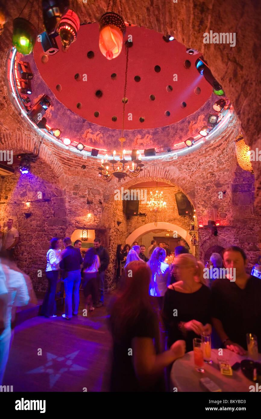 Gallery images and information kos greece nightlife - People Amusing In The Nightclub Hamam Club Kos Town Kos Greece