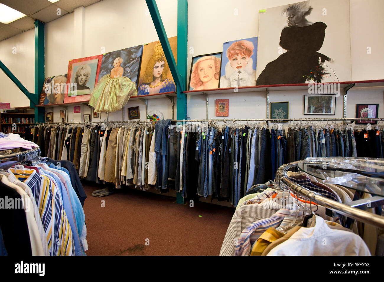 Thrift stores that buy used clothes in los angeles