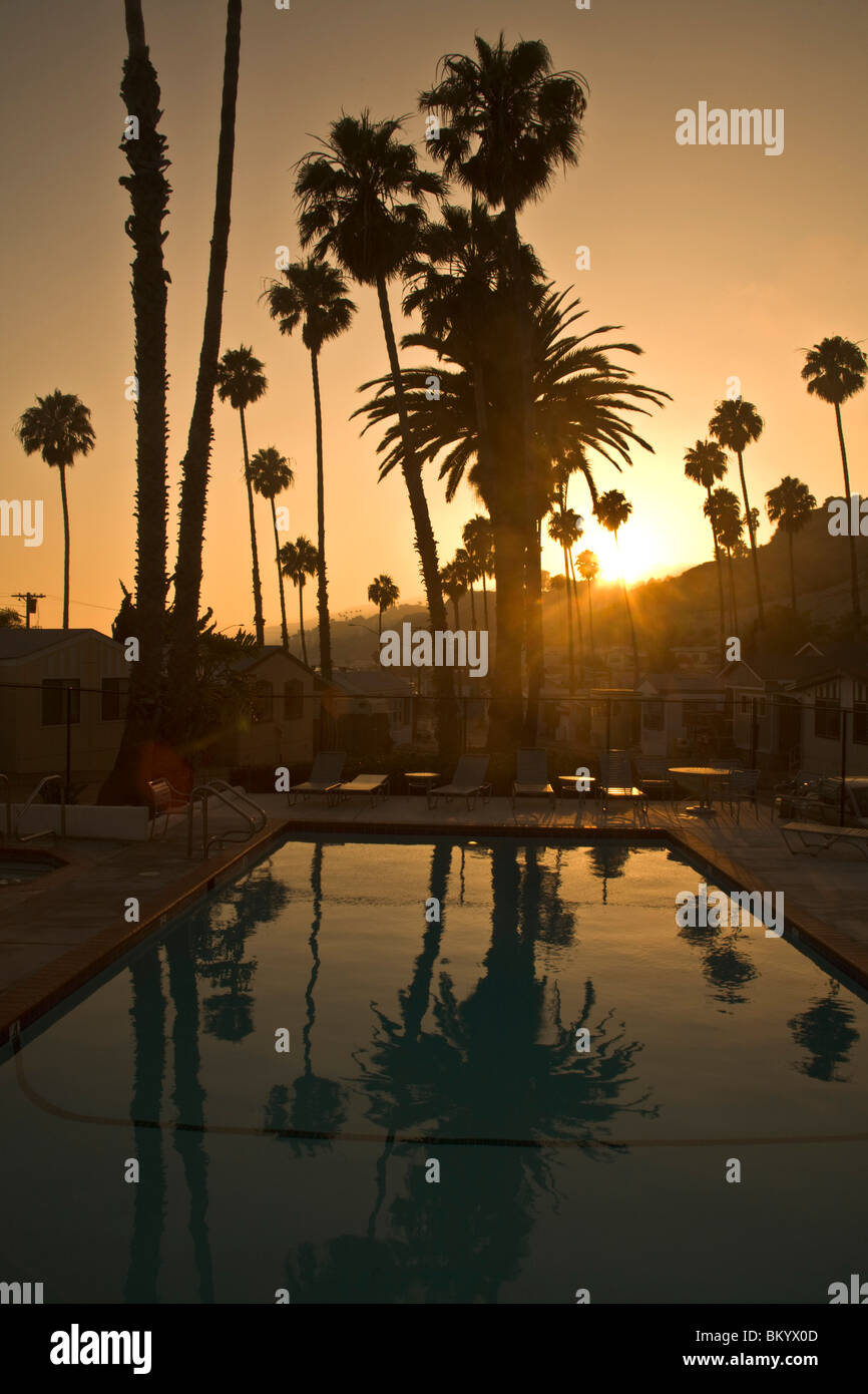 Pool At A Mobile Home Park Malibu Los Angeles County United States Of America
