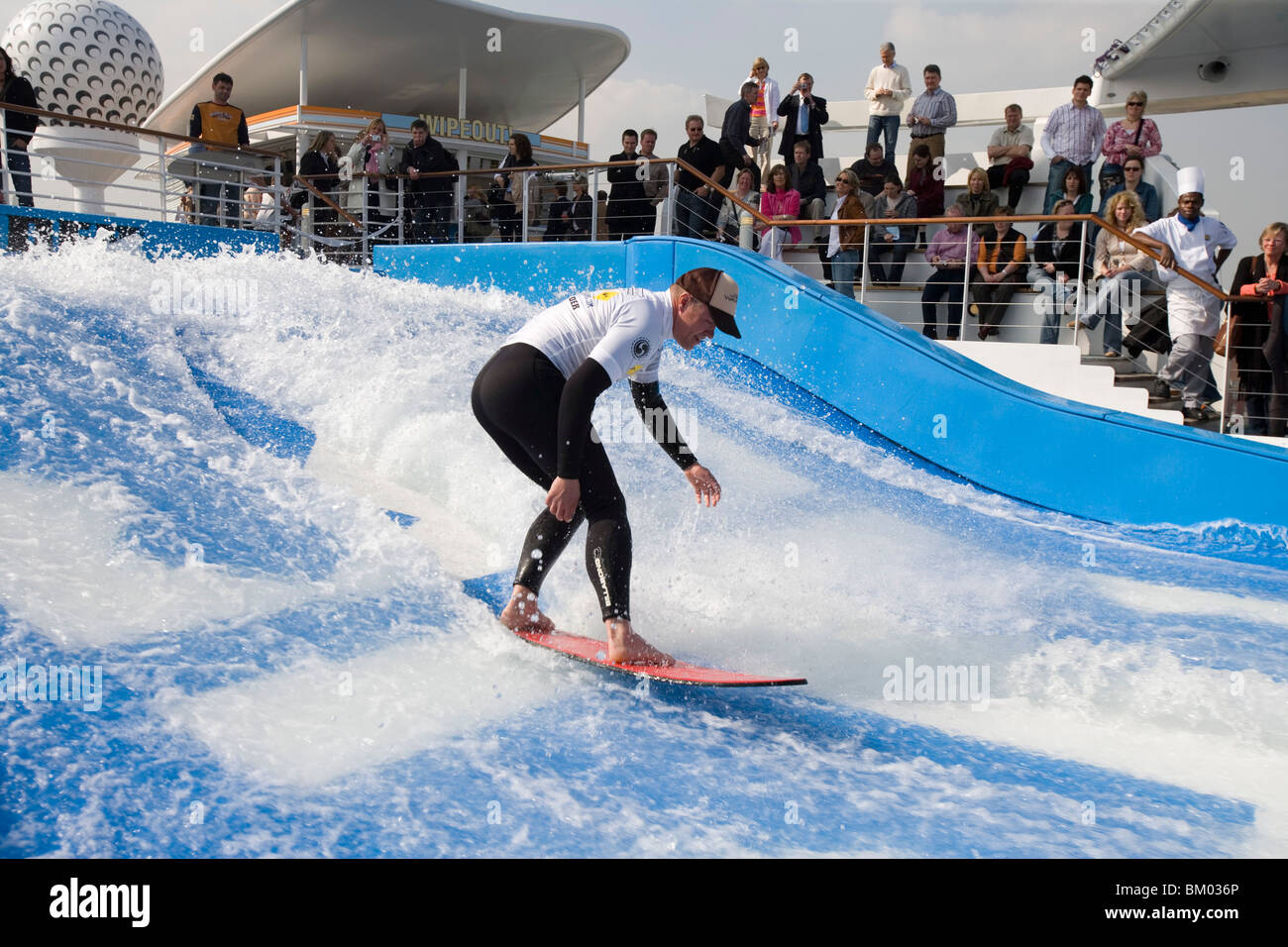Surfer On FlowRider Waves Freedom Of The Seas Cruise Ship Royal - Pictures of freedom of the seas cruise ship