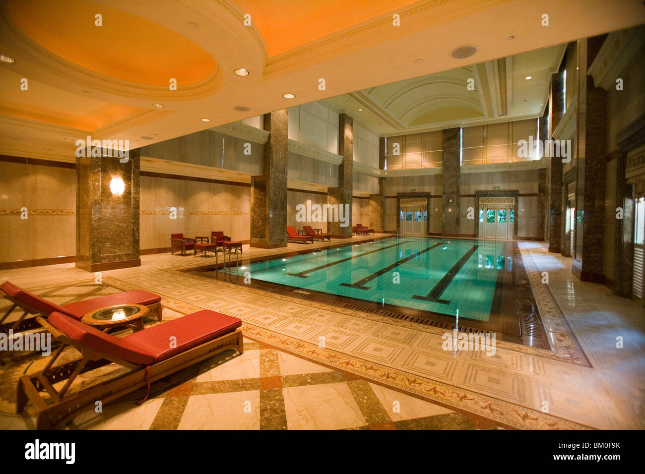 Empire hotel indoor pool the empire hotel country club - Centrepoint hotel brunei swimming pool ...