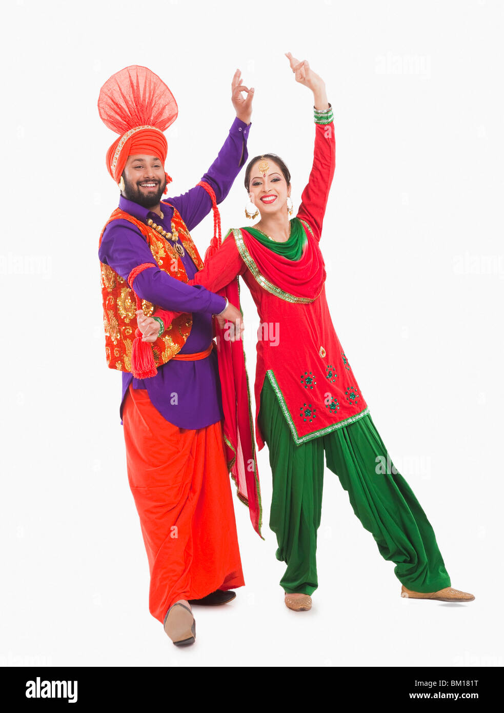 Bhangra the traditional folk dance from Punjab in North ...