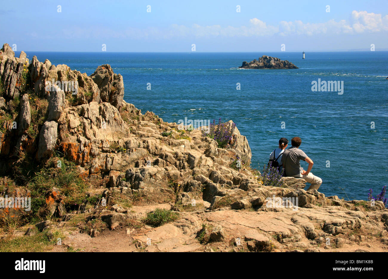 coast cancale ille et vilaine department bretagne france europe stock photo royalty free. Black Bedroom Furniture Sets. Home Design Ideas