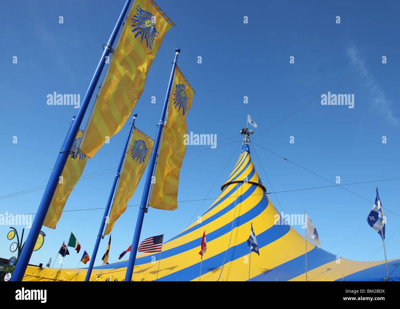 Cirque du Soleil tent & Cirque du Soleil tent Stock Photo: 29556406 - Alamy