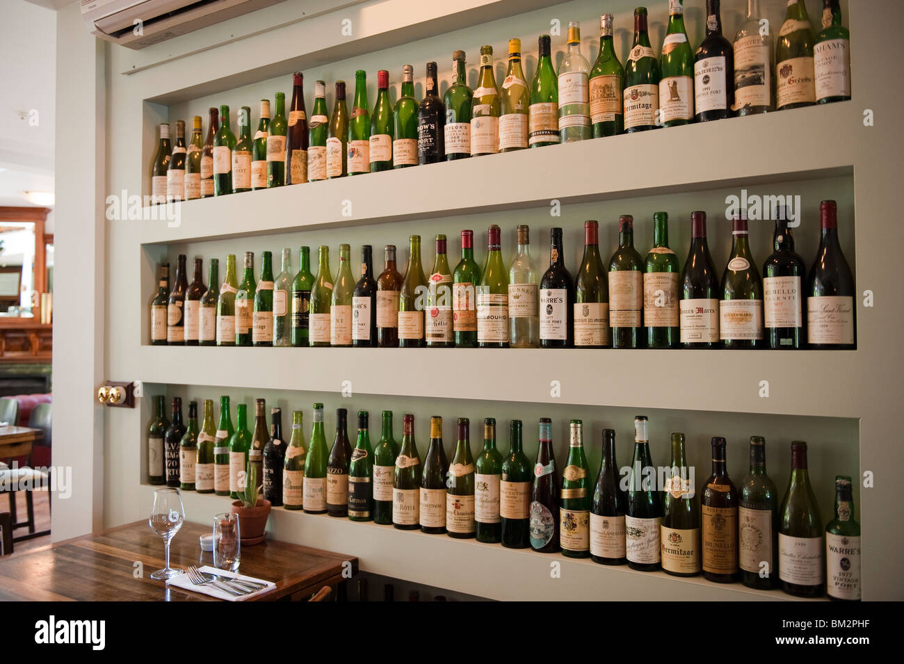 Wine Bottle Display Wine Bottles On Display Stock Photos & Wine Bottles On Display .