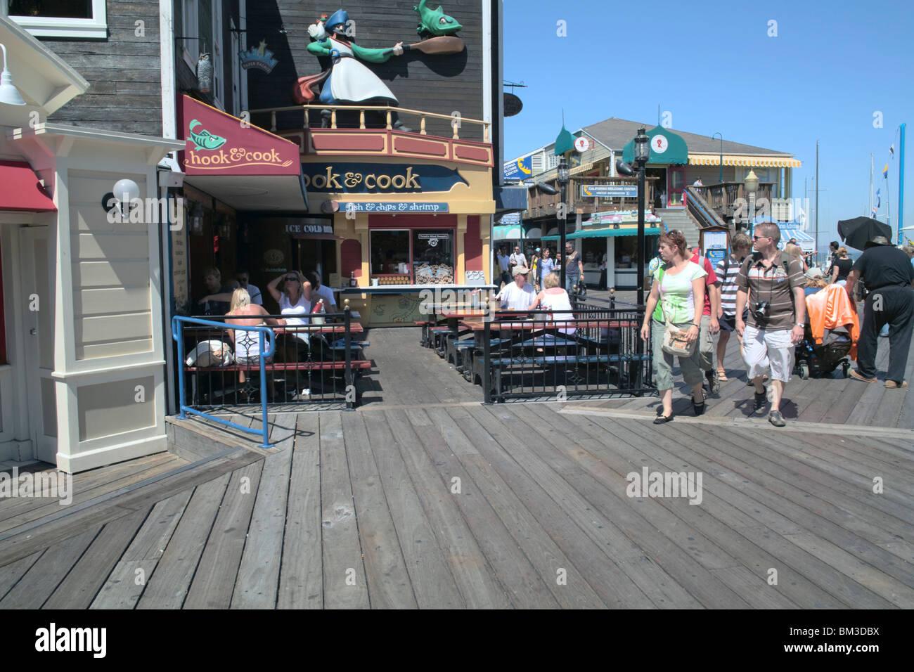 Seafood Restaurants On Fisherman S Wharf In San Francisco