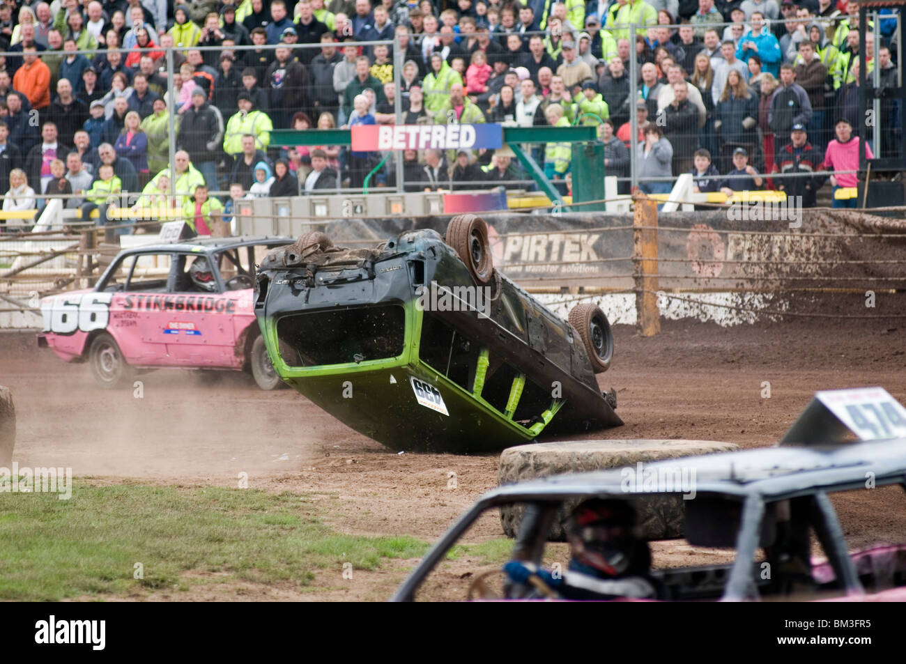 Banger Racing Race Car Cars Crash Bash Bashing Dent Wreck Crashes