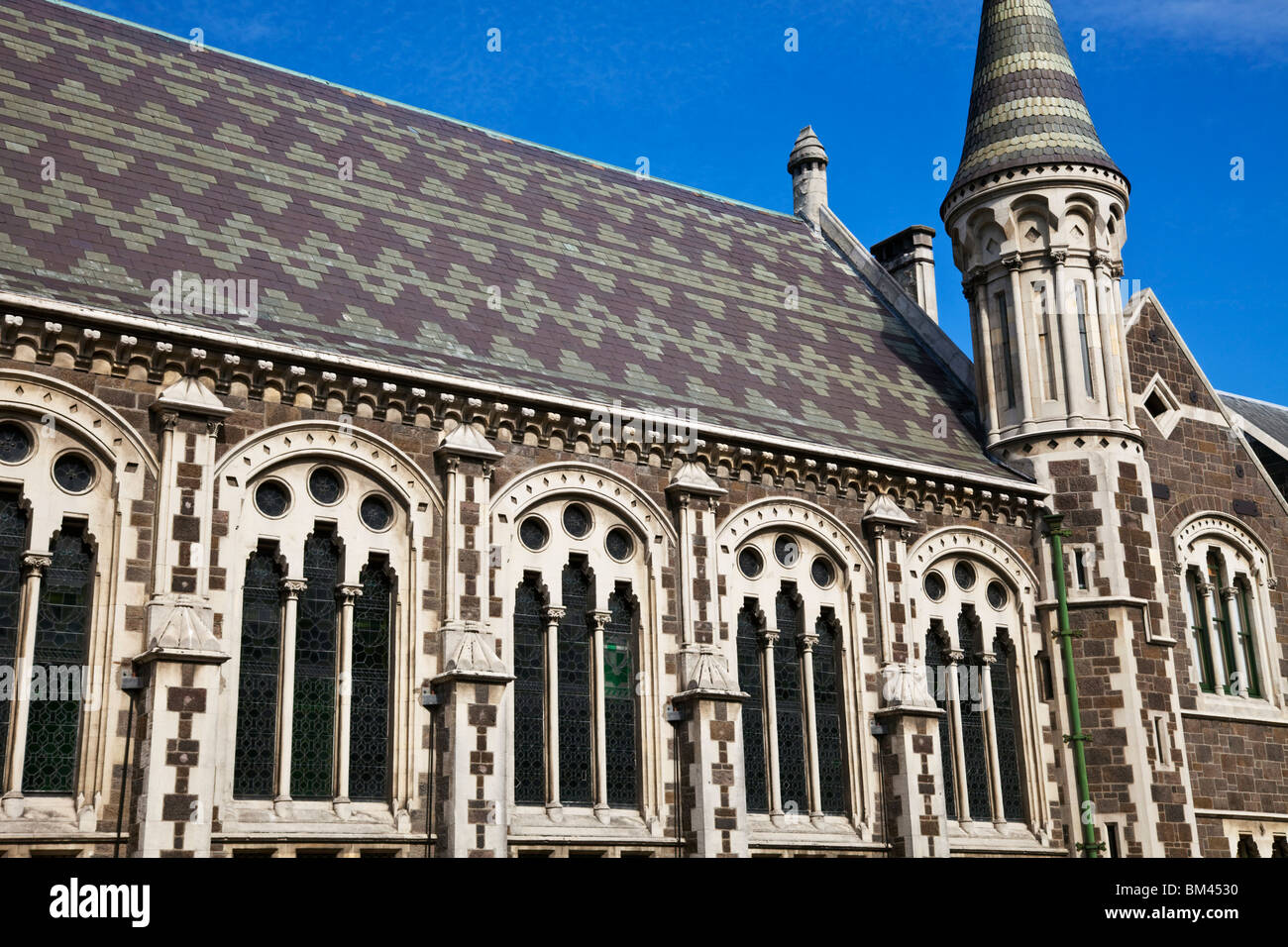 Gothic architecture of the arts centre formerly the for Architects christchurch