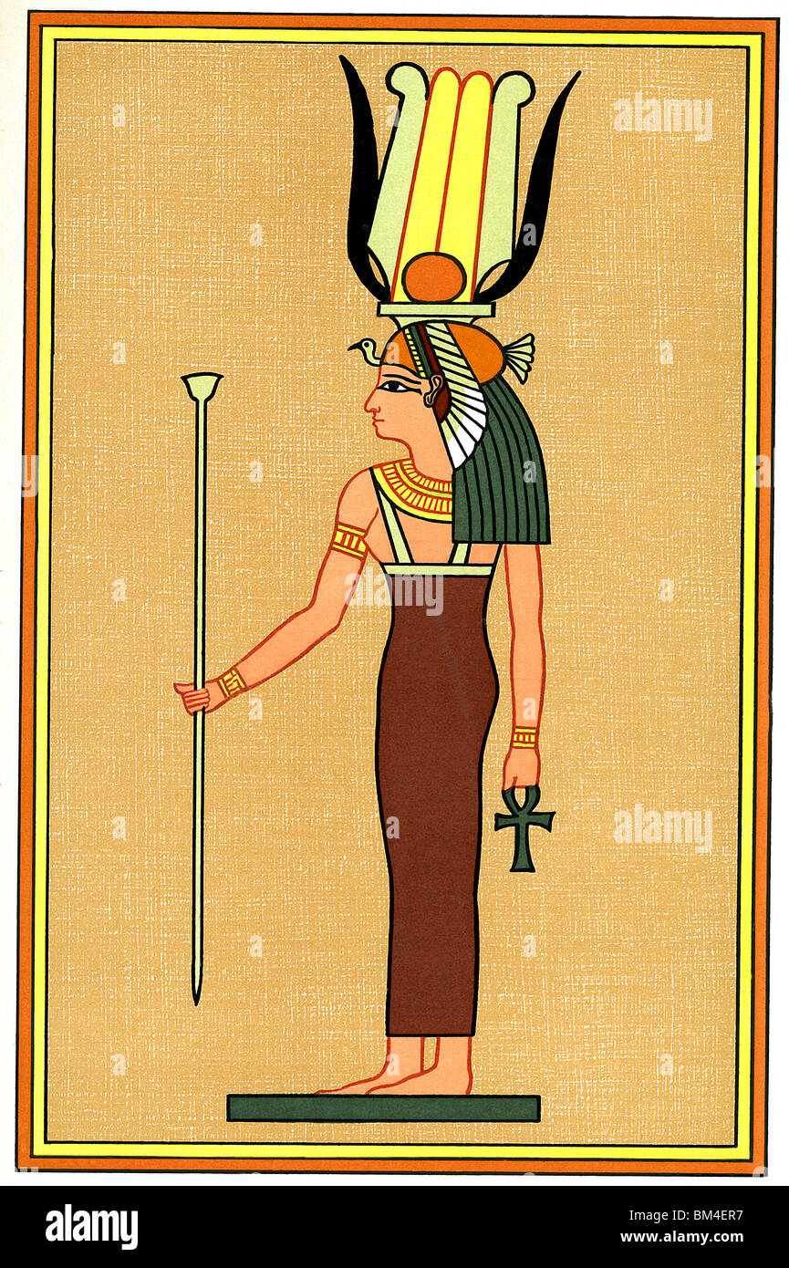 Isis was worshiped as the Mother Goddess. She was the wife ...