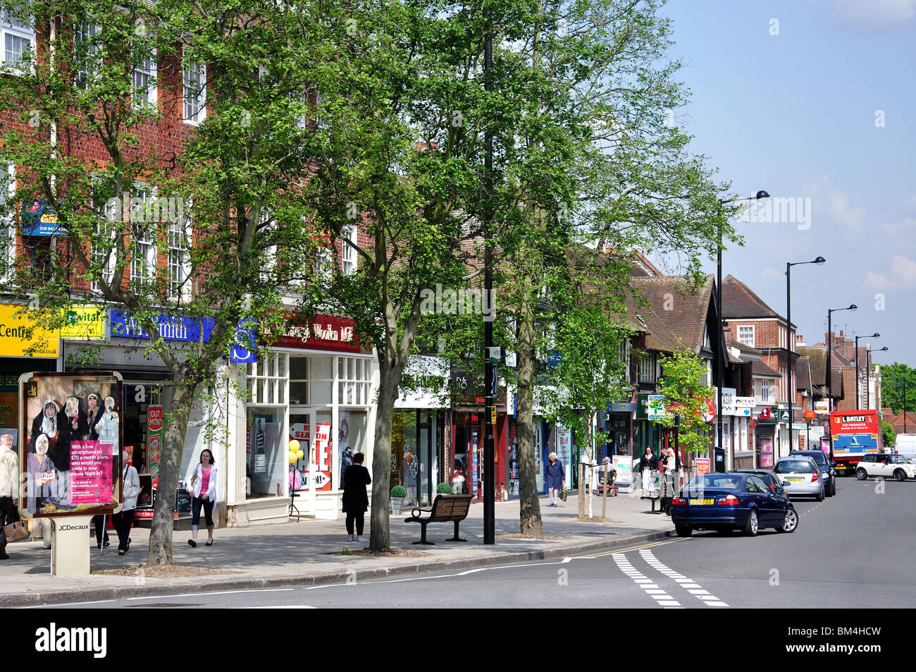 High Street  Ruislip  London Borough of Hillingdon  Greater London   England  United Kingdom. High Street  Ruislip  London Borough Of Hillingdon  Greater London