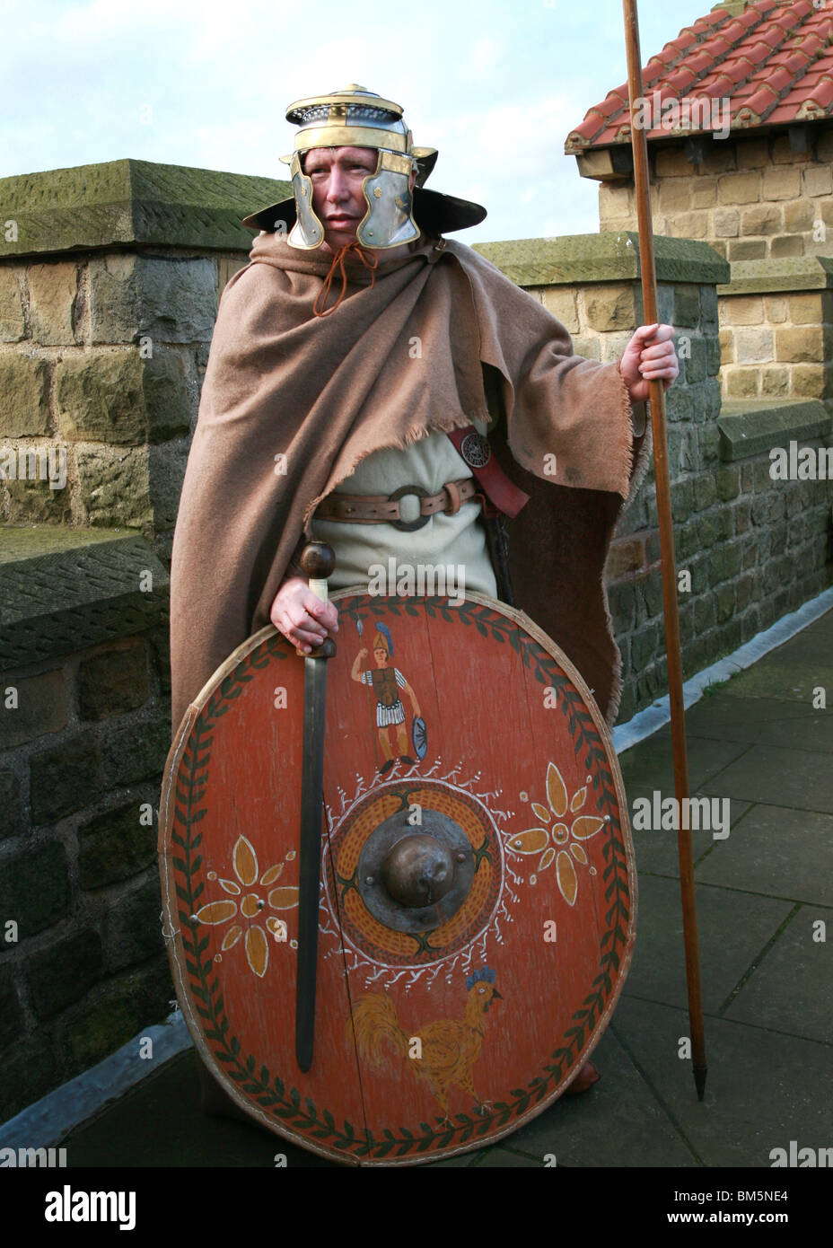 Roman Spear And Shield