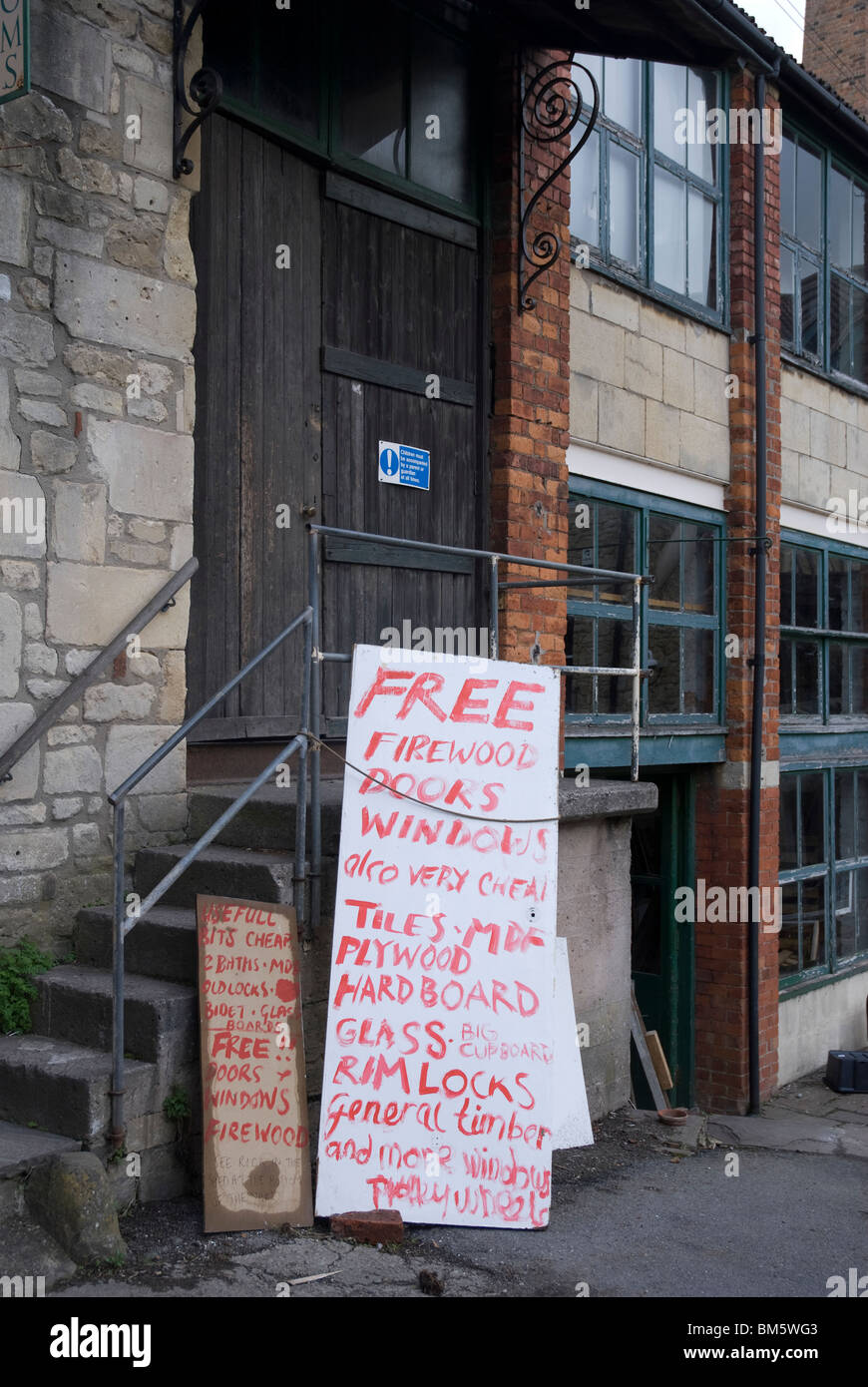 Walcot Reclamation Yard, Bath Spa, Somerset UK Stock Photo: 29633299 ...