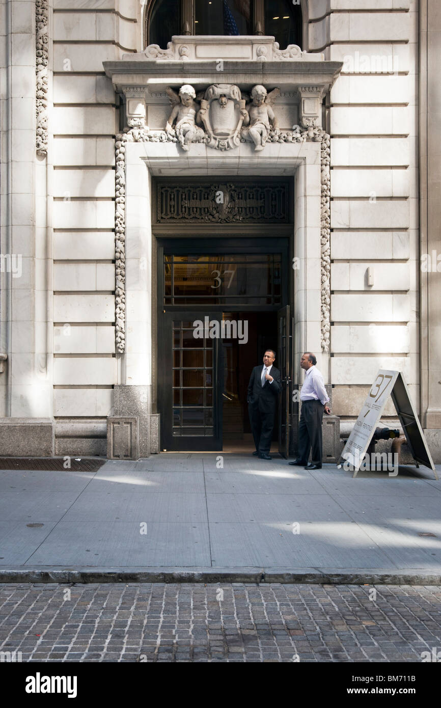 former office building converted to apartments at 37 Wall Street ...