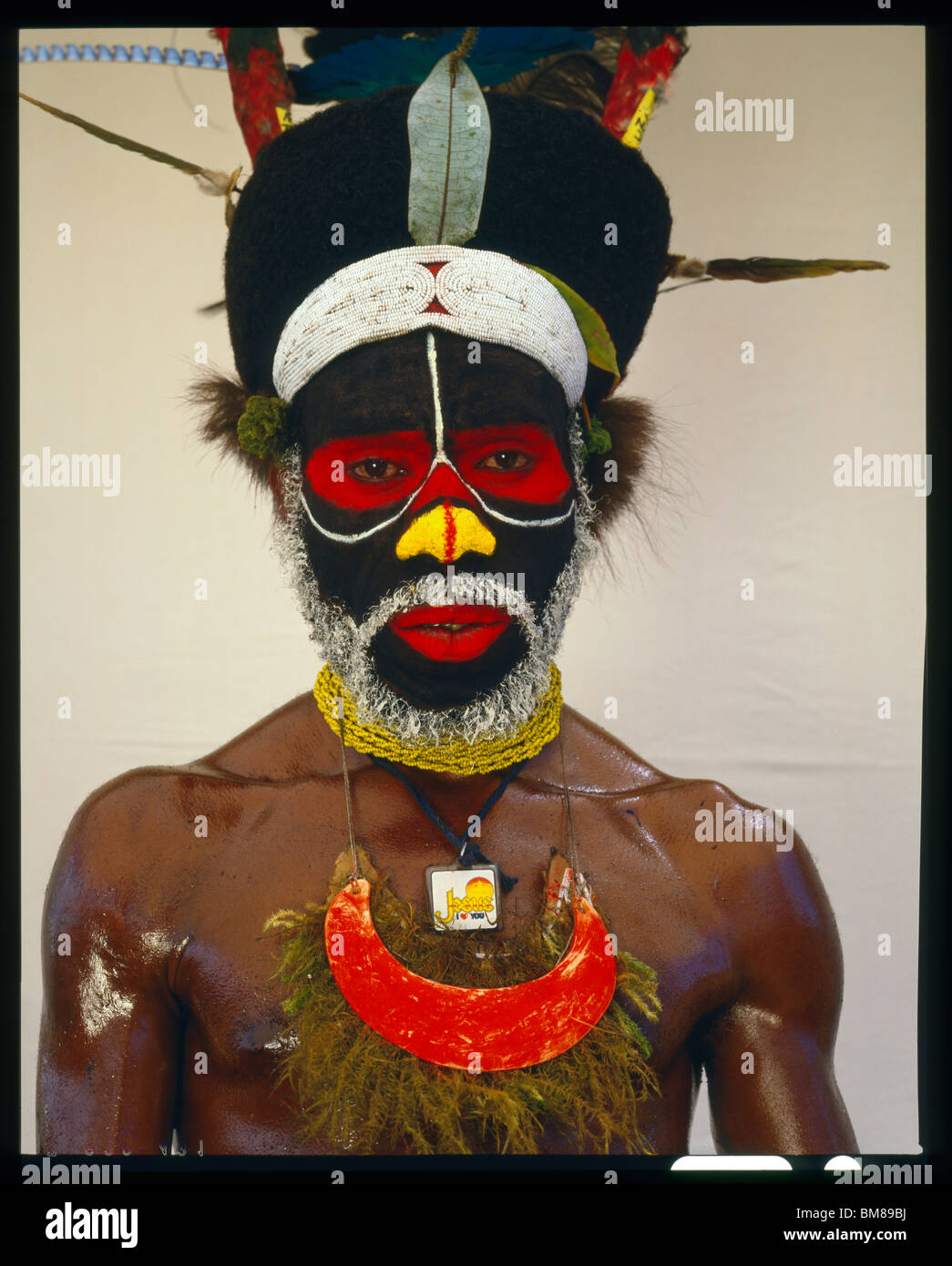 Peke Dupio from Map Village Southern Highlands of Papua New Guinea