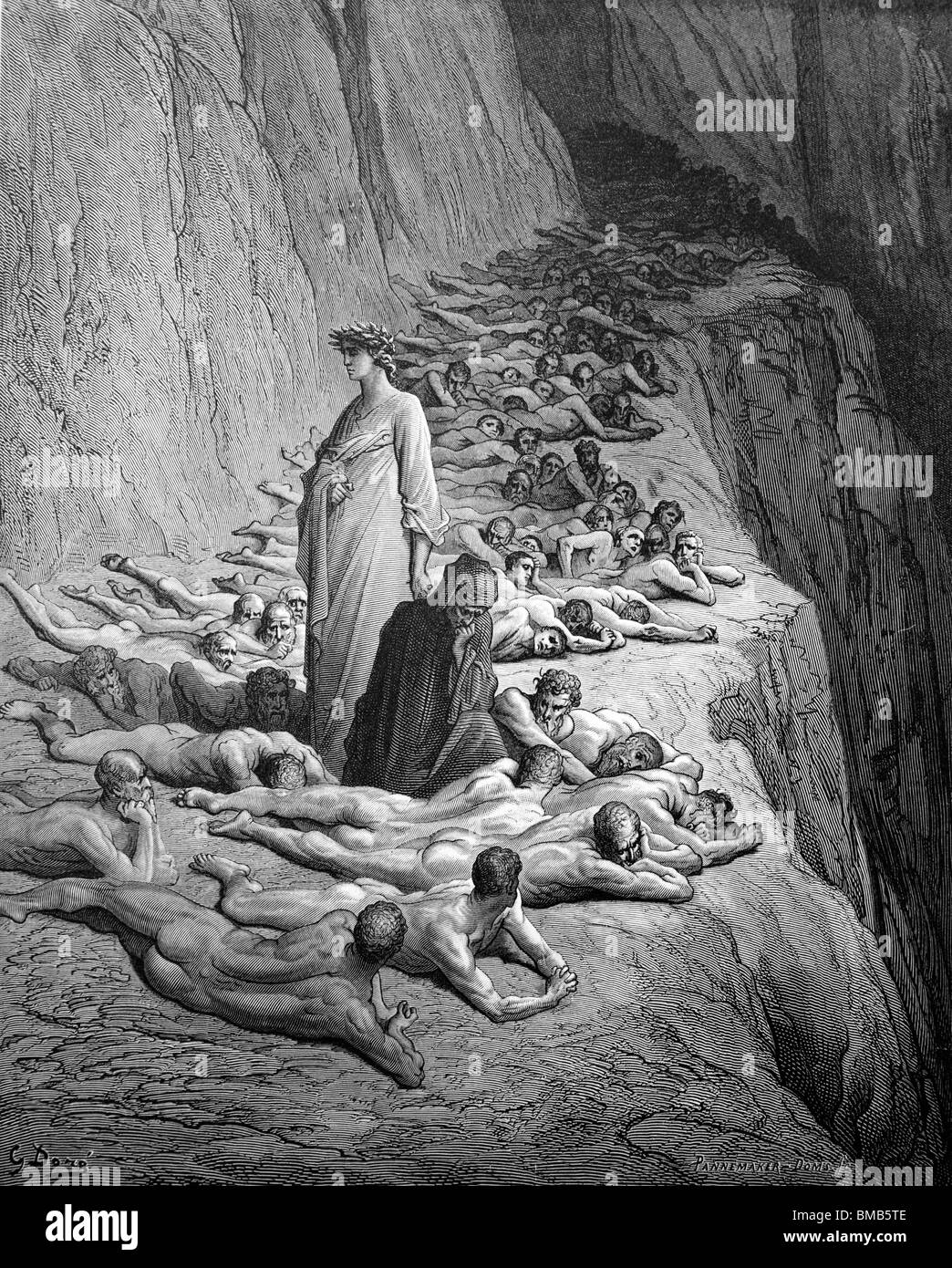 the purgatory from the divine comedy by dante alighieri The divine comedy (italian: commedia, later christened divina by giovanni boccaccio), written by dante alighieri between 1308 and his death in 1321, is widely.