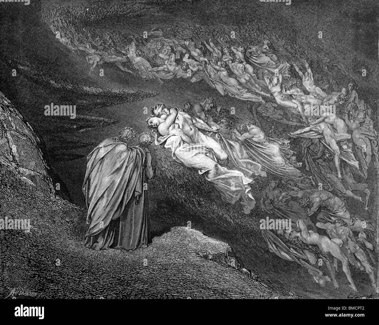 divine comedy Italian poet dante alighieri imagined an especially elaborate version of hell in  his divine comedy he included in his description the nine.