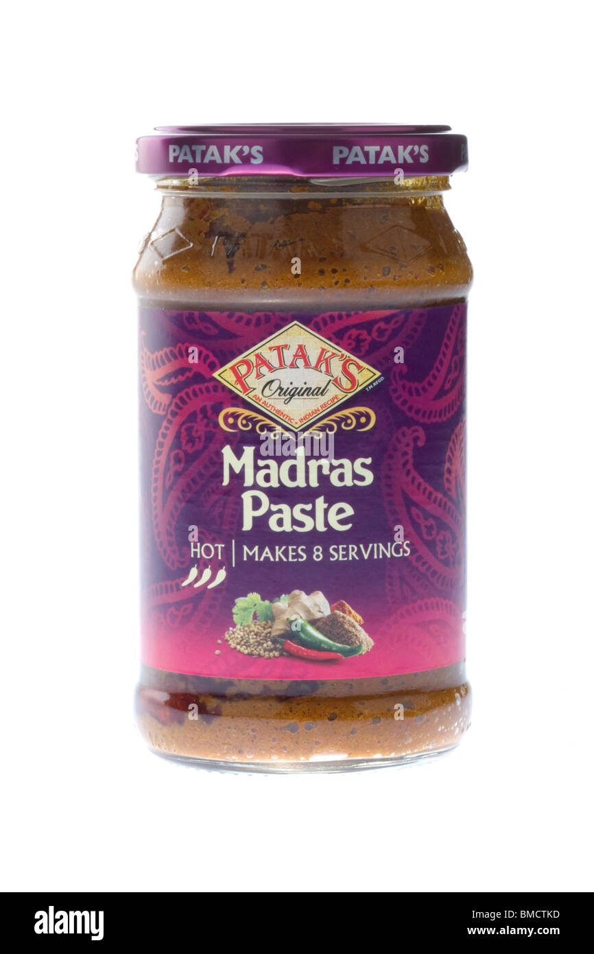 how to make madras curry paste