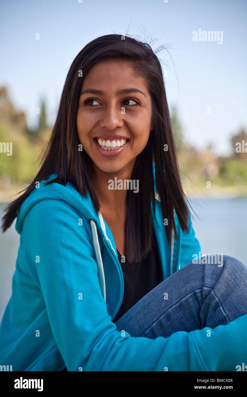 16 Year Old Hispanic American Girl. MR © Myrleen Pearson