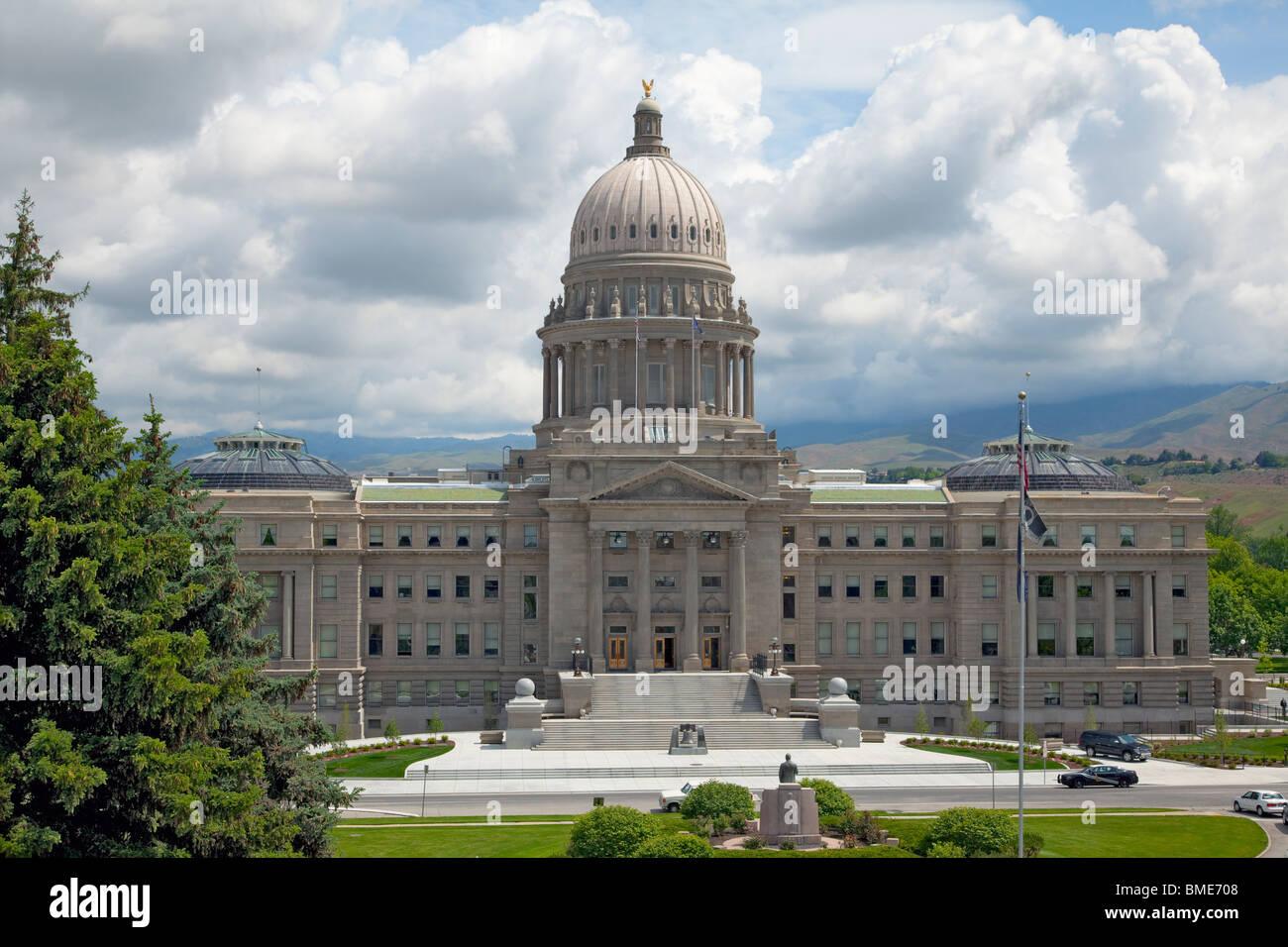 The Capitol Building, Boise, Idaho, US Stock Photo