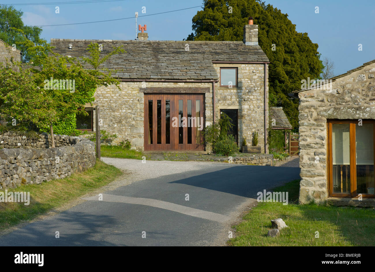Barn Conversions In The Village Of Hawkswick, Littondale, Yorkshire Dales  National Park, North