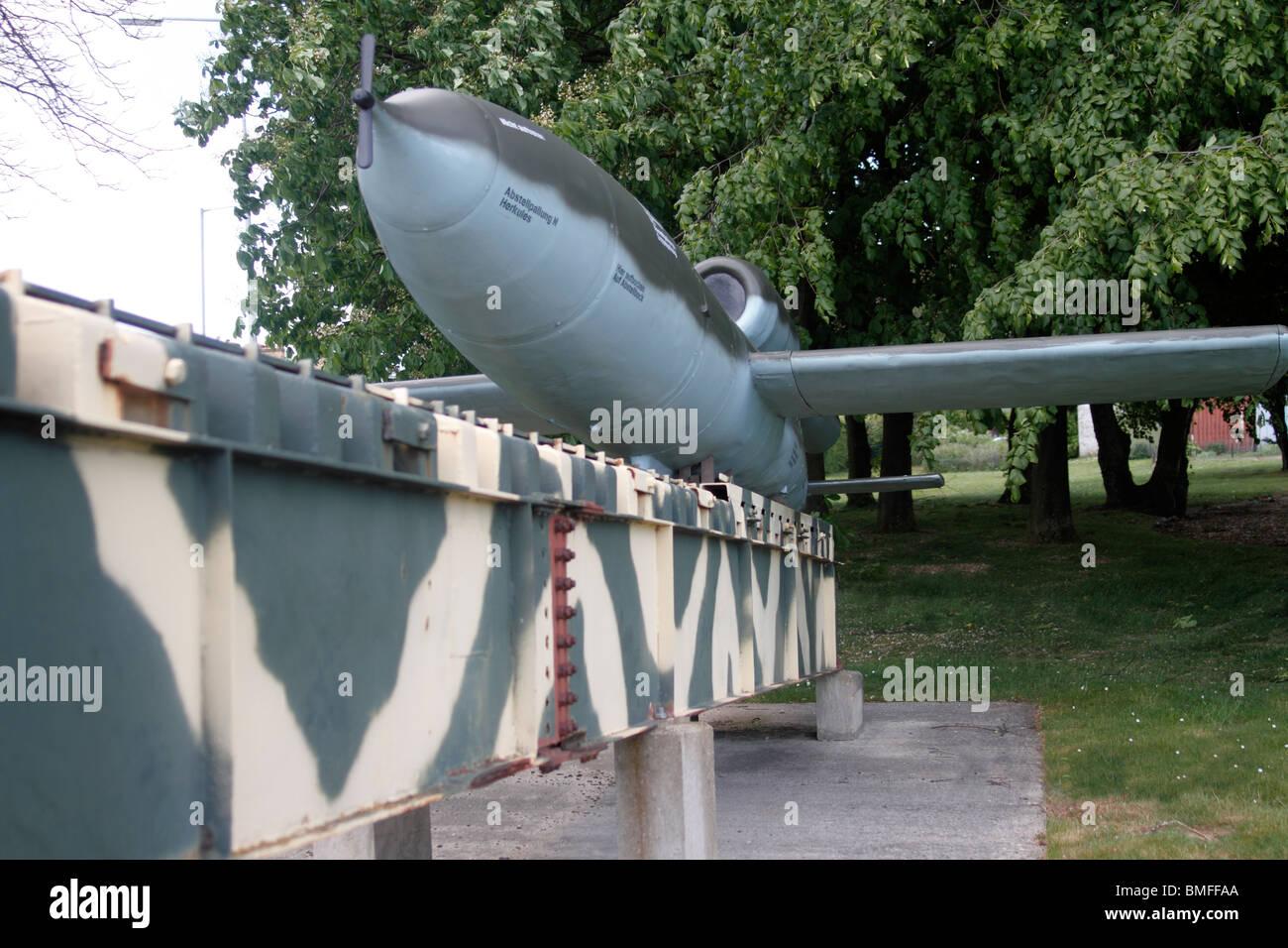 833rd aero squadron - V1 Flying Bomb Verheltingswaffe Reprisal Weapon 1 Duxford Aero Museum Part