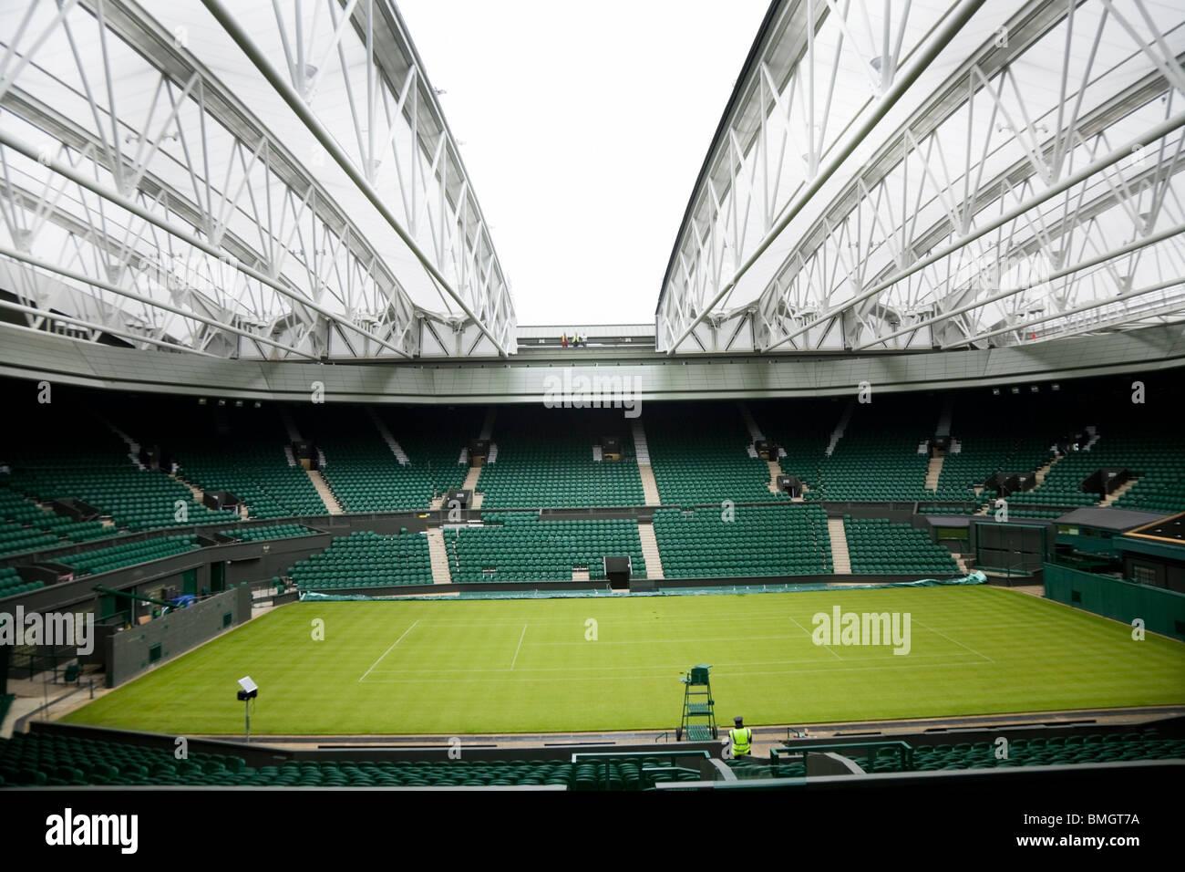 Centre Court Wimbledon Tennis Championship Stadium Arena
