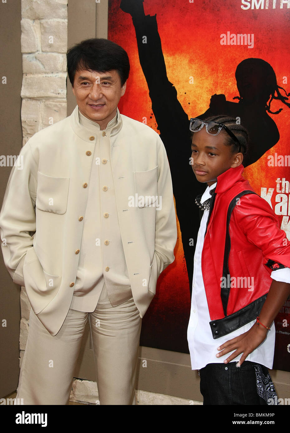 JACKIE CHAN JADEN SMITH THE KARATE KID FILM PREMIERE LOS ...