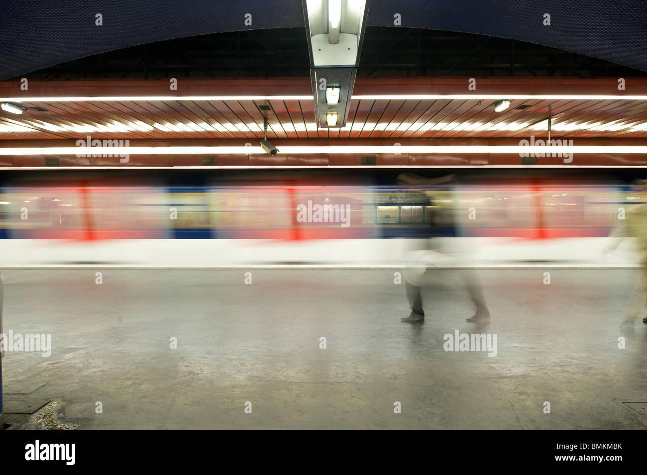 Rer A Station Auber