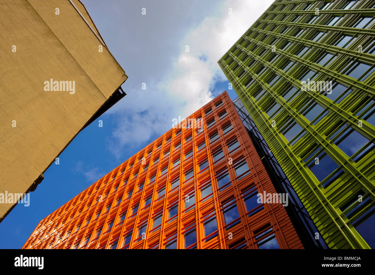 """Modern Architecture London England new construction, office buildings, """"central st. giles"""", """"modern"""