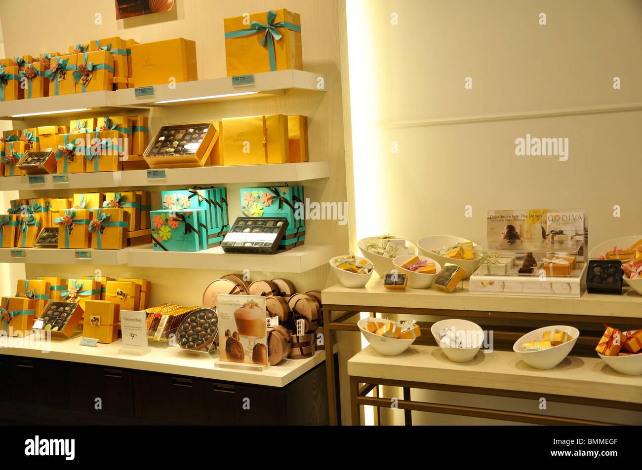 Godiva chocolate store, New York, USA Stock Photo, Royalty Free ...