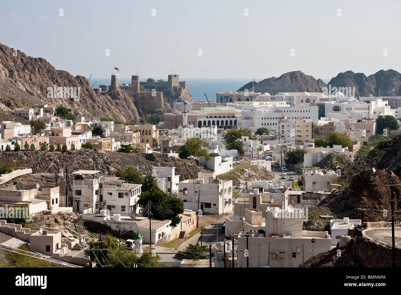 muscat old town stock photo royalty free image 29969810 alamy. Black Bedroom Furniture Sets. Home Design Ideas