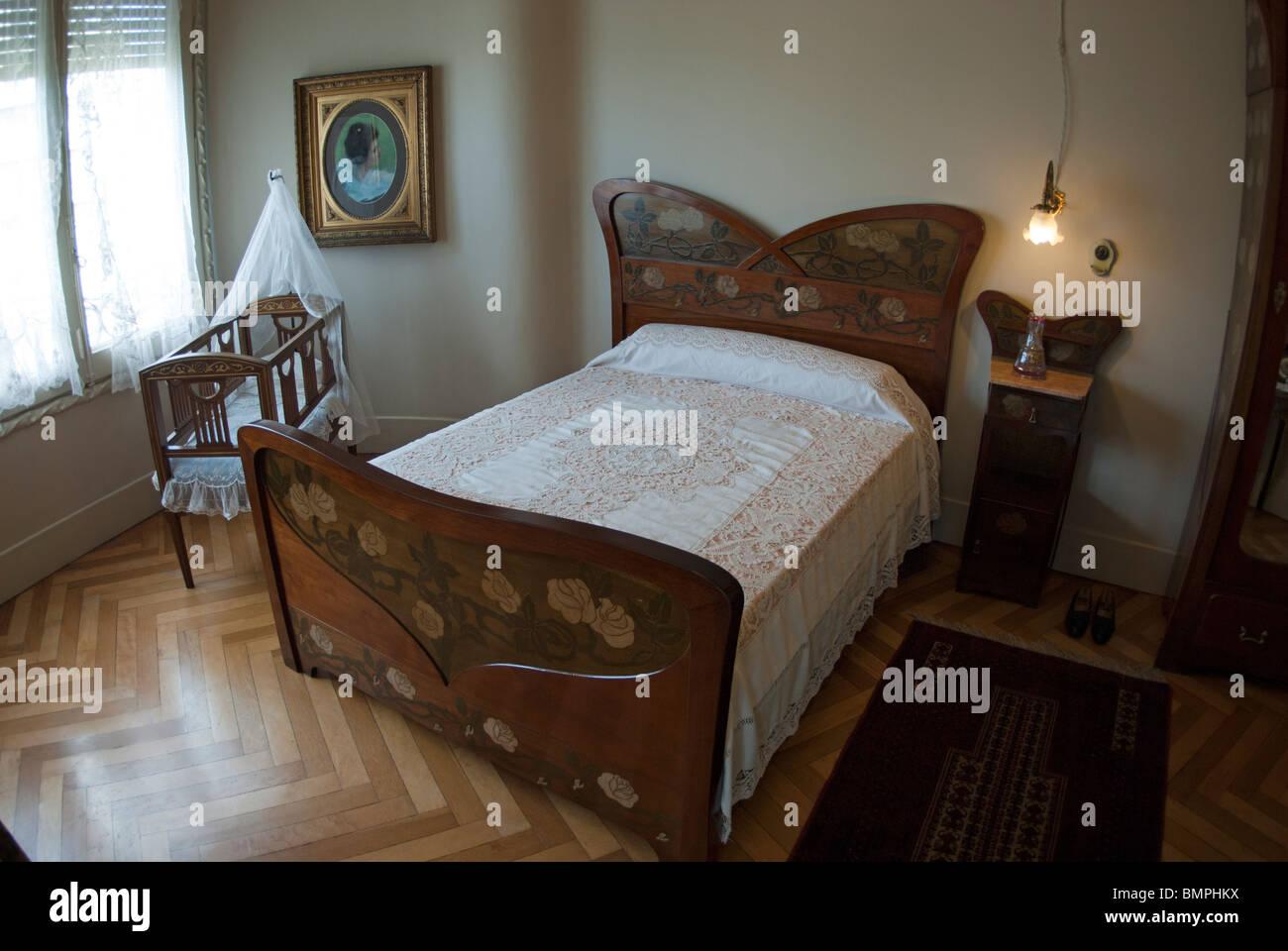 Casa Mila Interior Of Bedroom Designed By Gaudi And Jujol