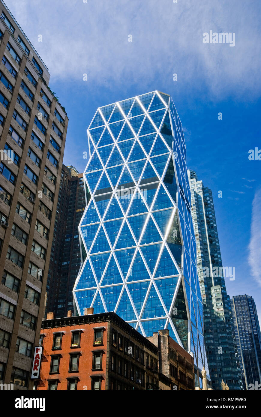 Hearst tower norman foster architect new york city stock - Forster architekt ...