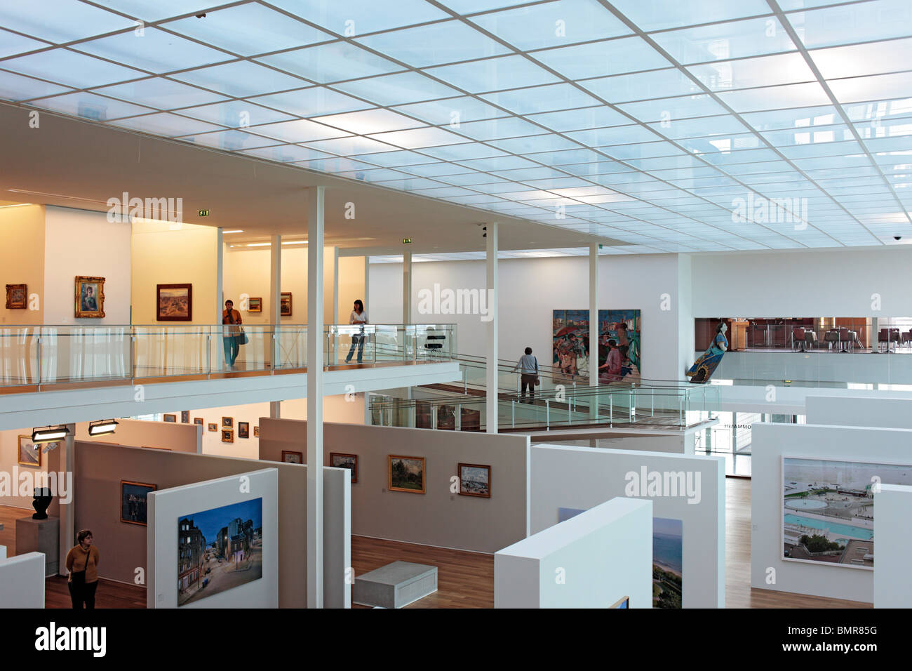 musee des beaux arts andre malraux le havre seine maritime stock photo royalty free image. Black Bedroom Furniture Sets. Home Design Ideas