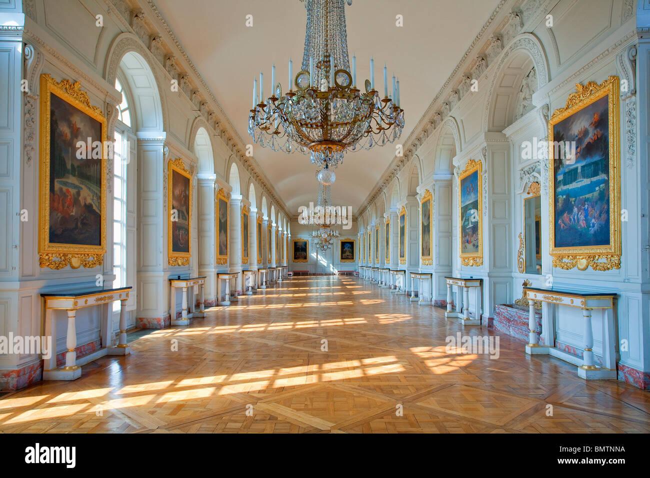 Chateau de versailles the grand trianon galerie des cotelle stock photo 30047398 alamy - Photo chateau de versailles ...