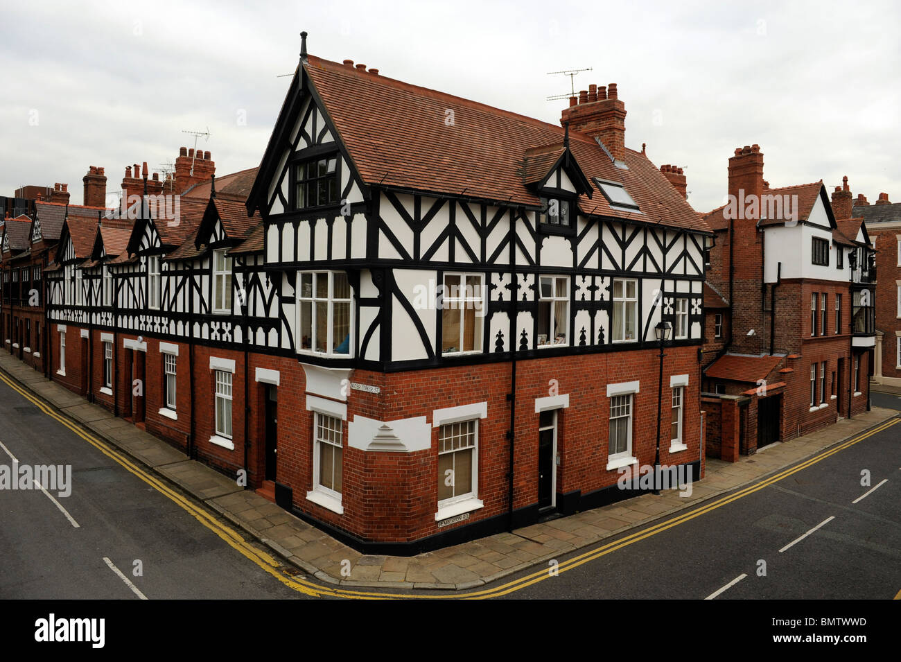 Image result for half timber and brick