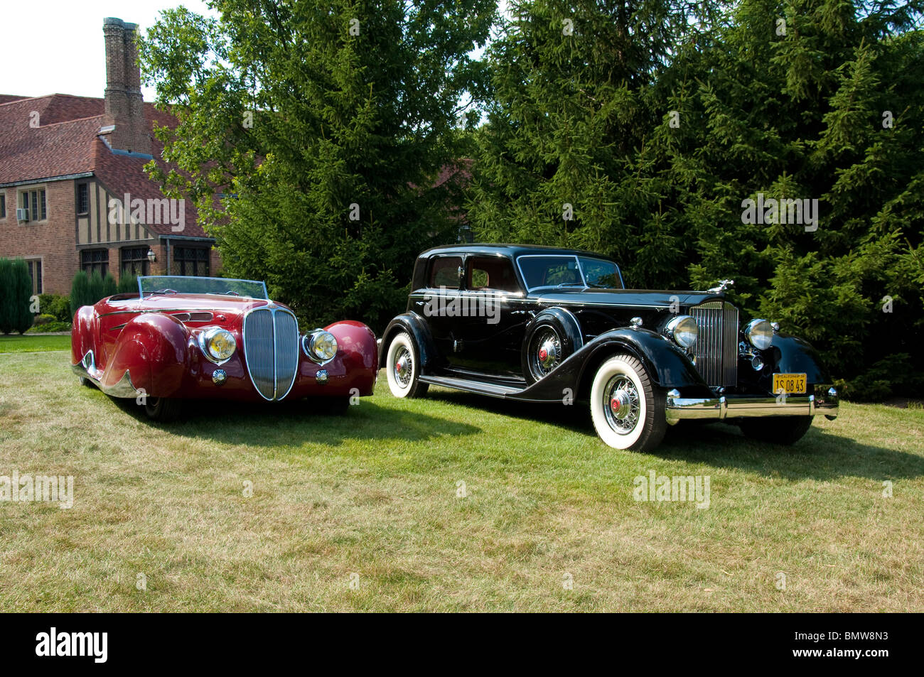 Older Cars at Meadow Brook Concours d\'Elegance 2009 Stock Photo ...