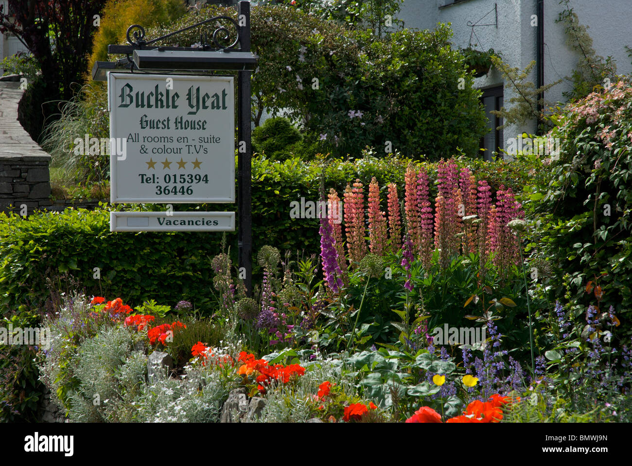 Buckle Yeat guest house in the village of Near Sawrey, Lake ...