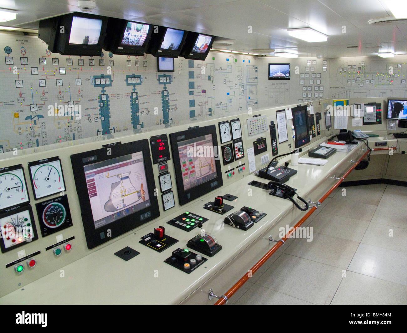 Holland America Cruise Ship Interior Stock Photos Holland - Cruise ship controls