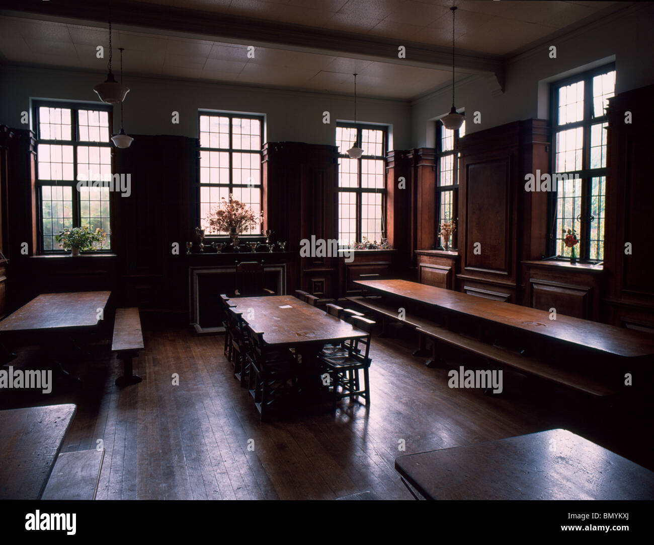 Rugby School dining room Temple House Stock Photo 30111834 Alamy
