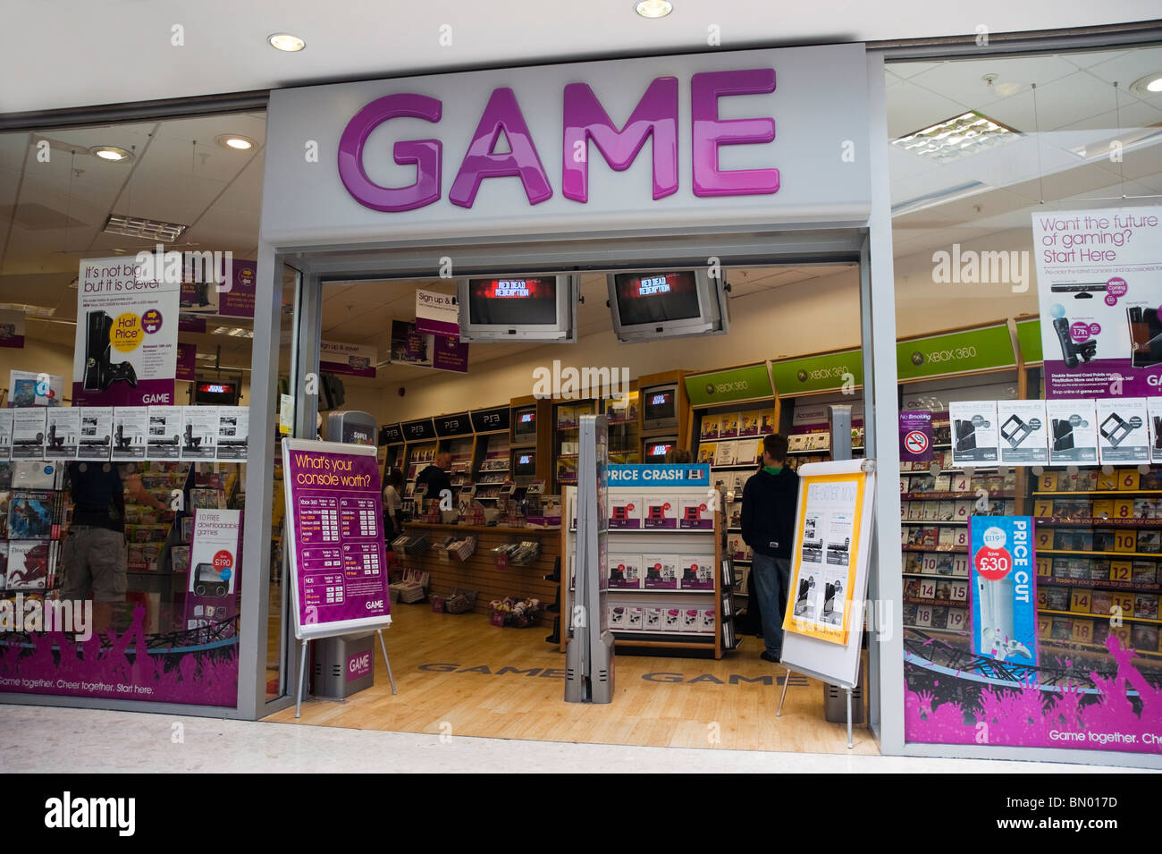 Game shop selling computer games in Swansea, South Wales ...