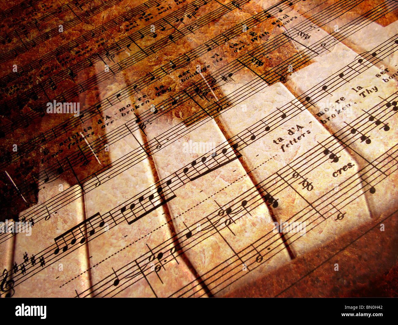 Sheet Music Photography