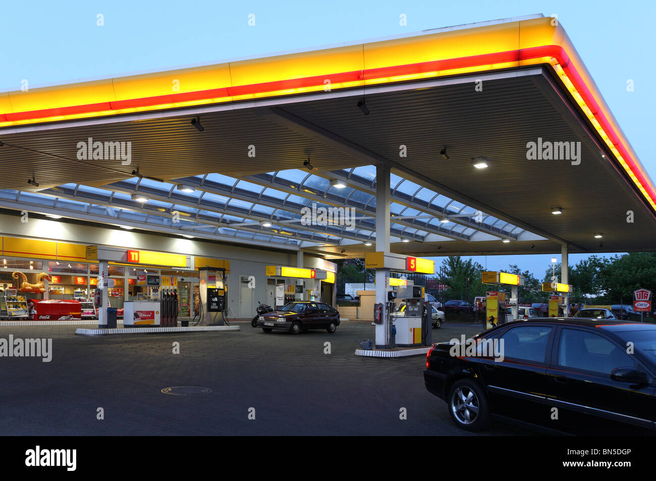 Shell stationer tyskland