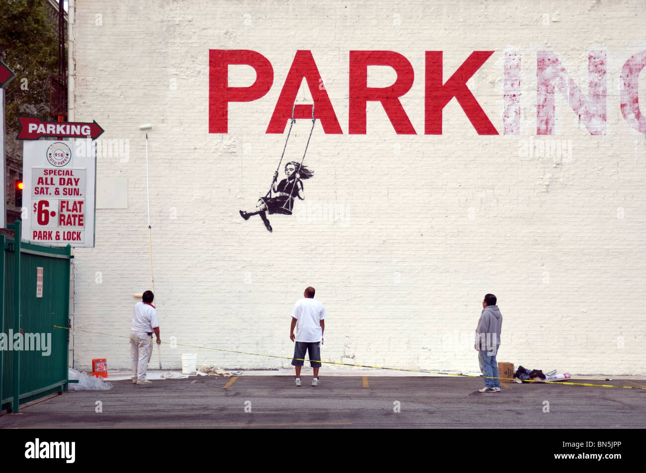 banksy artwork los angeles