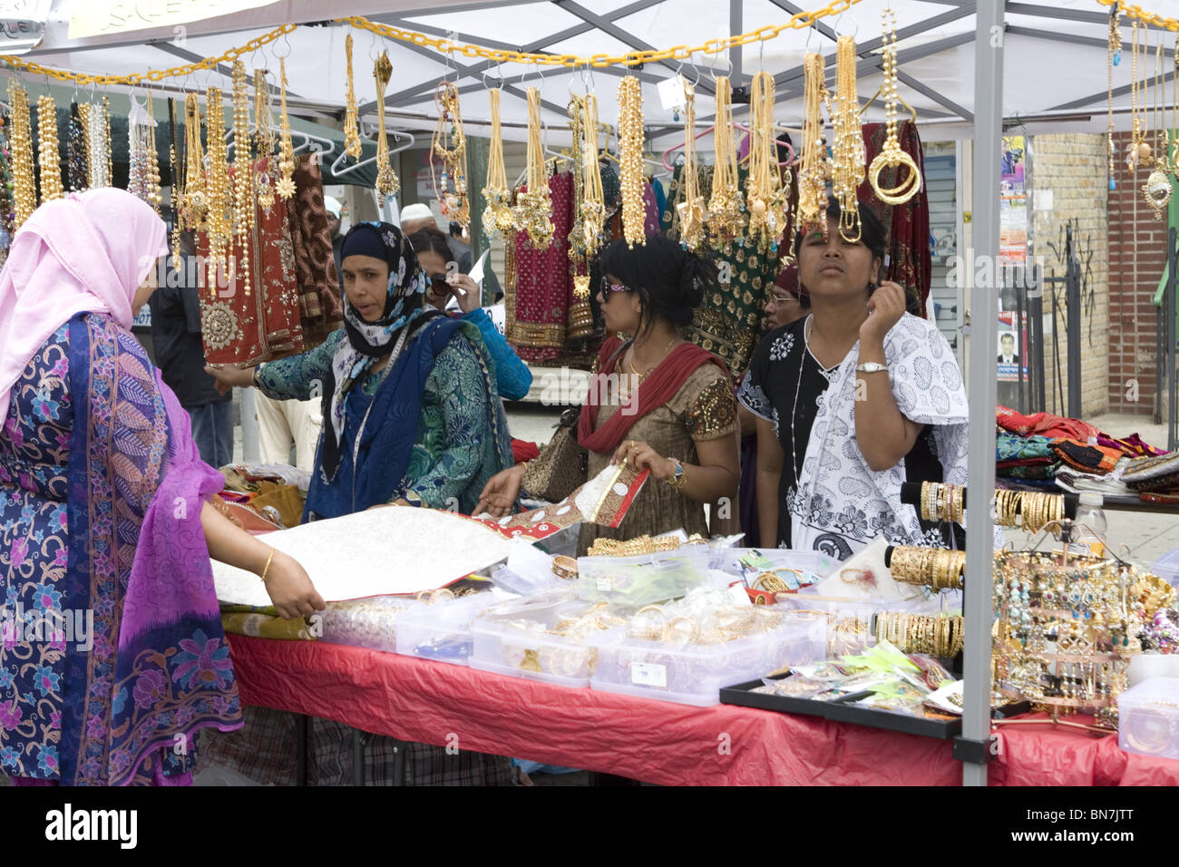 Bangladeshi fair, Little Bangladesh, Kennsington section, Brooklyn ...