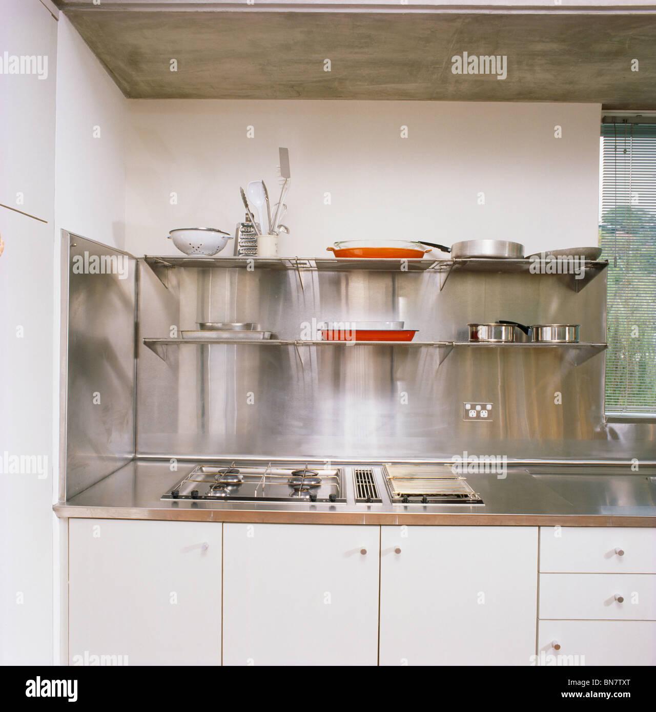 Stainless Steel Kitchen Worktops London