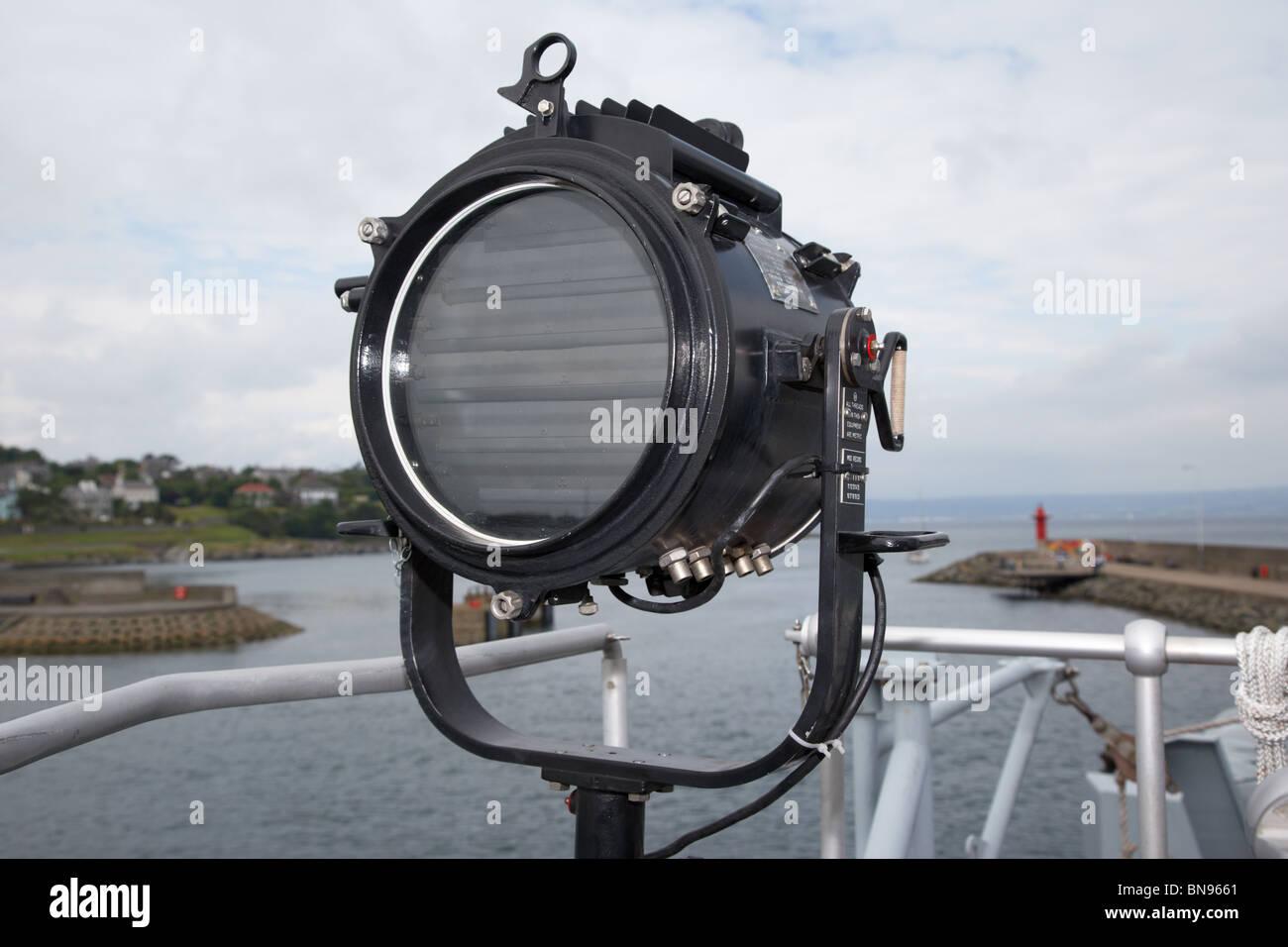 signal lamp or aldis lamp for morse code signalling aboard HMS ...