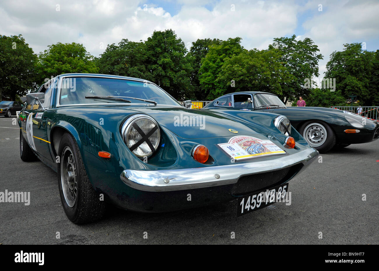 Classic Cars Lotus Europe And E Type Jag On Display At Bressuire